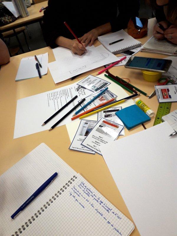Atelier de travail en groupe
