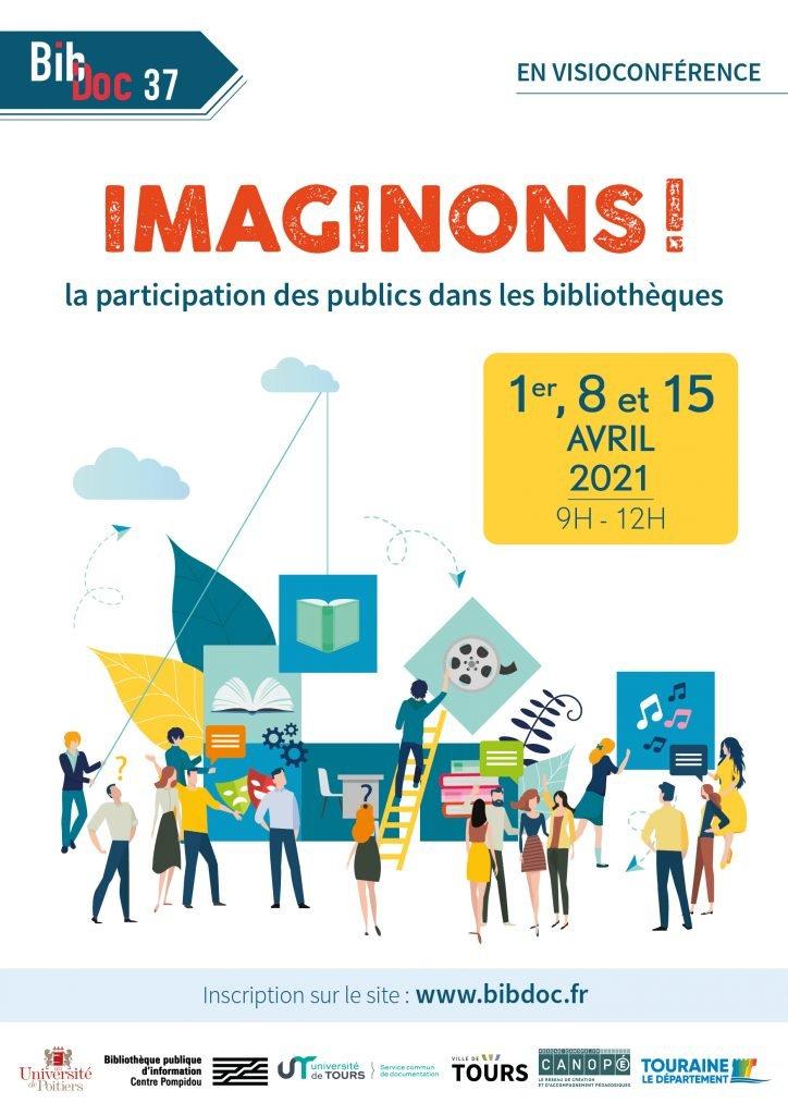 Affiche événement professionnel Bibdoc 2021