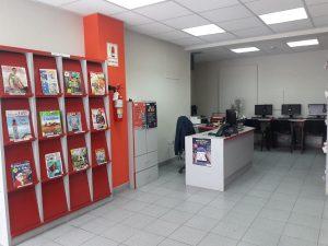 Espace presse de la bibliothèque Jesus Maria