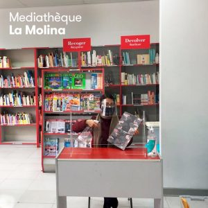 Ouverture de la bibliothèque La Molina