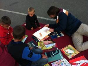 Photo enfants et livres, 2014
