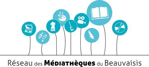 Logo des médiathèques du Beauvaisis