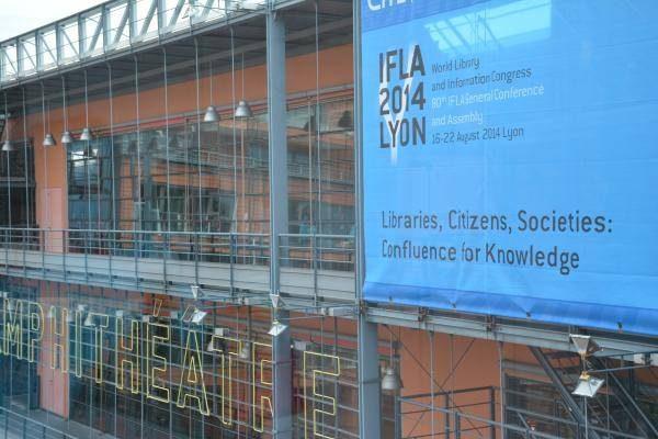 Facade du centre des congrès de Lyon