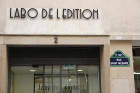 La façade du labo de l'édition