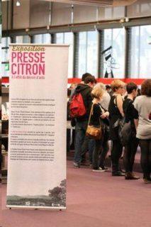 Image exposition Presse-Citron