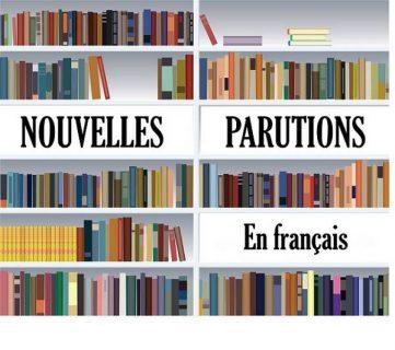 Bibliothèque de livres avec indiqué nouvelles parutions en français