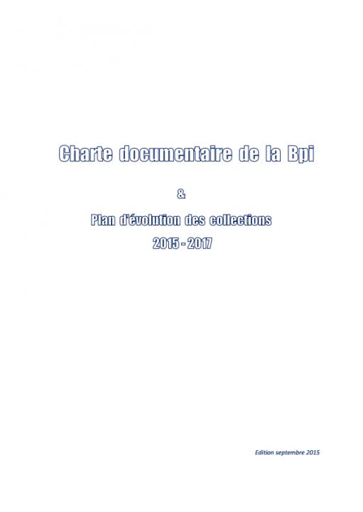 Pdf Charte documentaire  2015
