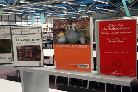 Trois livres sur le cinéma documentaire en France et dans le monde exposés à la Bpi