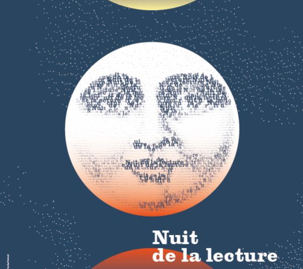 Zoom sur l'affiche de la Nuit de la lecture