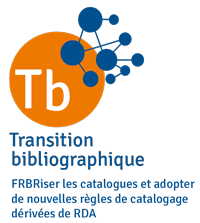 "Logo du programme national ""Transition bibliographique""."