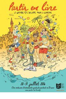 Affiche du festival Partir en livre