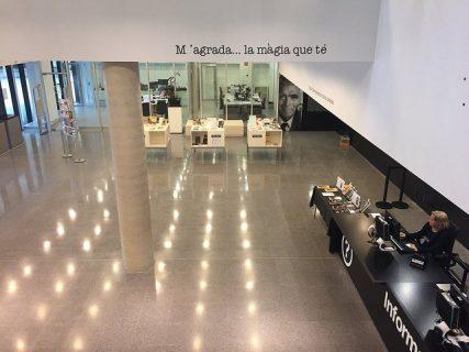 Photo de la bibliothèque de Castelledefels
