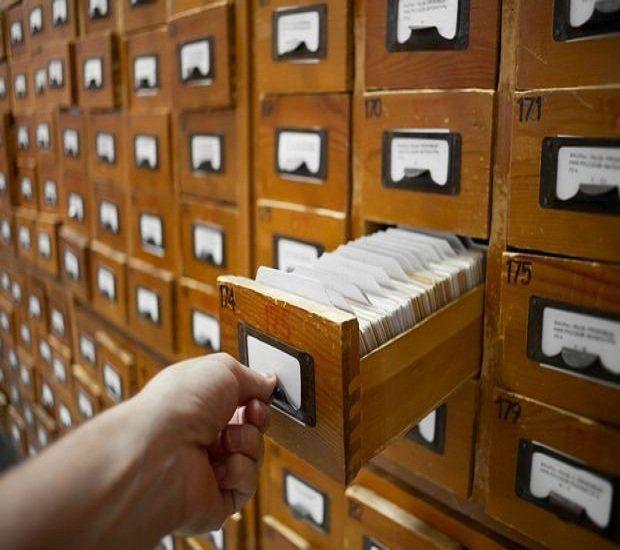 photo de fichiers manuels