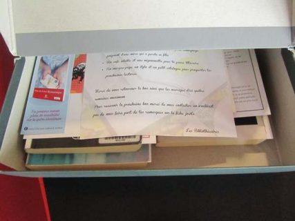 Intérieur de la Bookbox