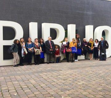 Photo du groupe participant au voyage d'étude