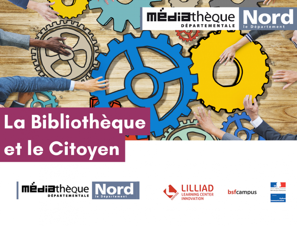 Logo de la bibliothèque et le citoyen