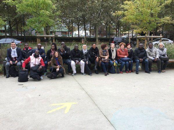 Photographie de groupe des stagiaires 2016
