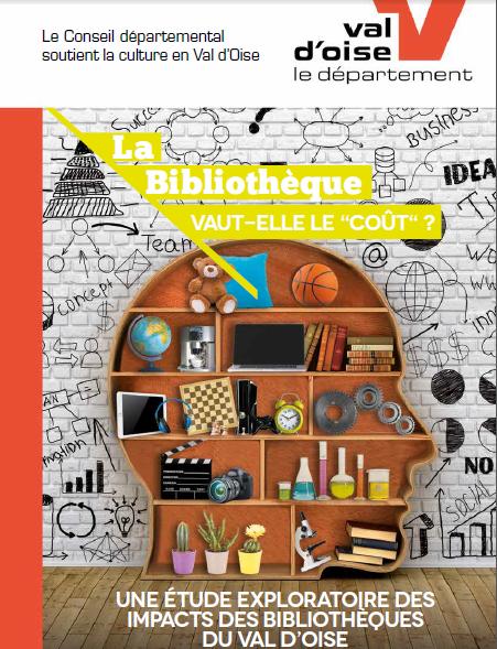 Visuel de l'étude intitulée La Bibliothèque vaut-elle le coût ?