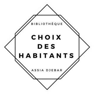 Logo du choix des habitants de la bibliothèque Assia Djebar