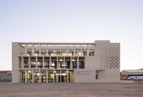 Photographie de la médiathèque Montaigne à  Frontignan