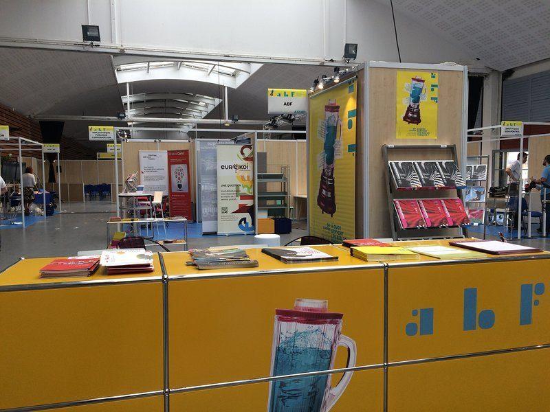 Photographie du stand ABF au congrès