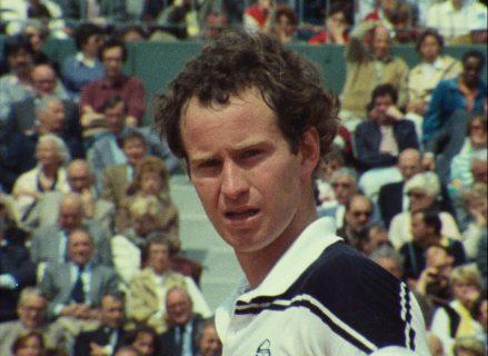 Photo extraite du film John McEnroe, l'empire de la perfection