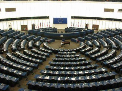 Photographie du parlement européen