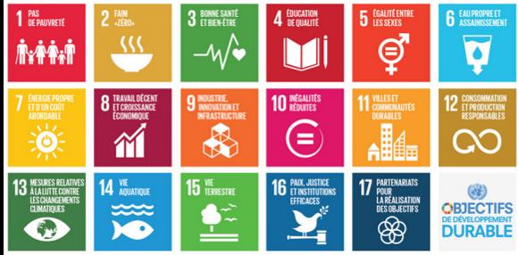 Objectifs de l'agenda 2030