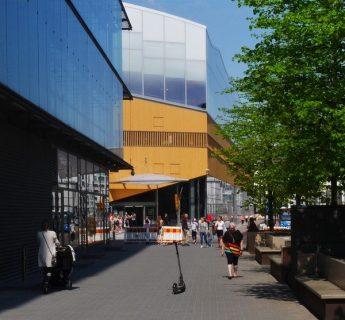 Photographie extérieure du bâtiment