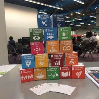Cubes objectif développement durable