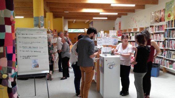 Formation à l'expérimentation dans une bibliothèque du Val d'Oise