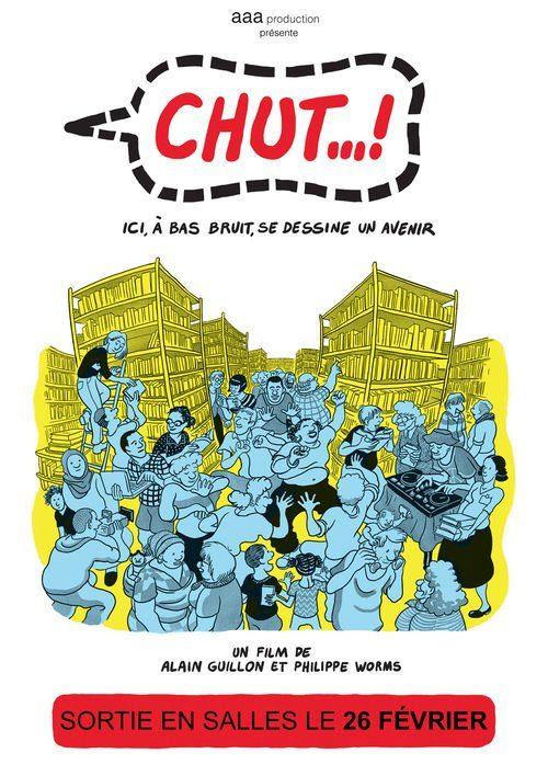 visuel de l'affiche du film Chut !