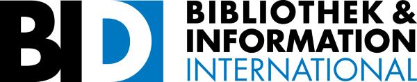 Photographie du logo de l'association BID (Bibliothek Information Deutschland)