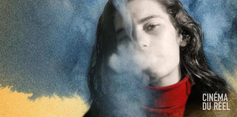 Affiche du Cinéma du réel représentant une femme qui fume
