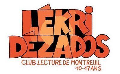 Tag conçu pour le club de lecture ados de Montreuil