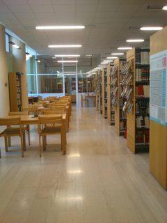 Espace de la bibliothèque d'Iraklio