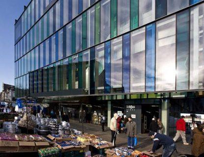 Photographie extérieure de Idea Store Whitechapel (Londres)