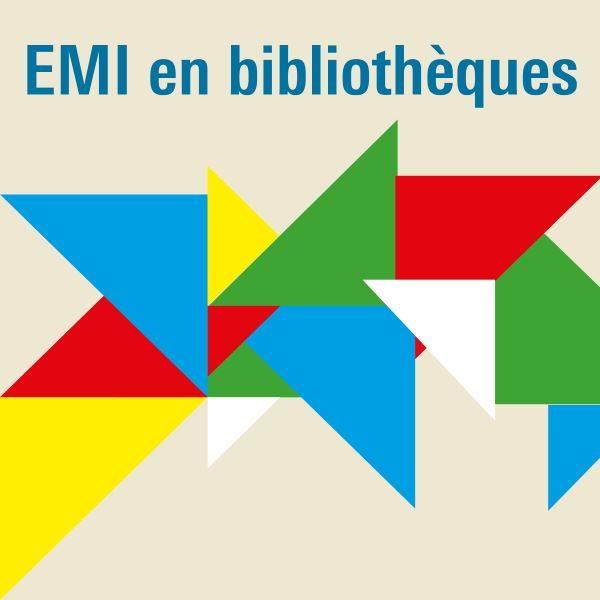 Logo d'EMI en bibliothèques