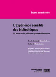 couverture de l'expérience sensible des bibliothèques
