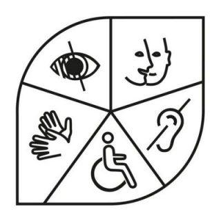 logo handicap du ministère de la Culture