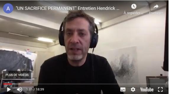 Capture vidéo entretien Hendrick Dusollier par Alexandre