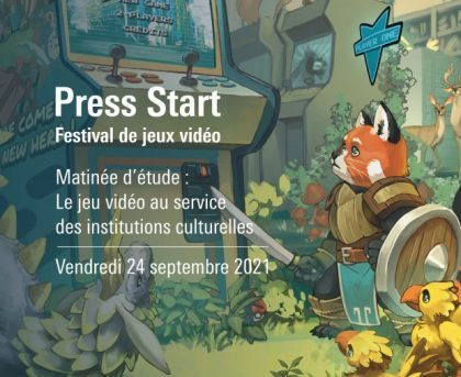 visuel Press Start