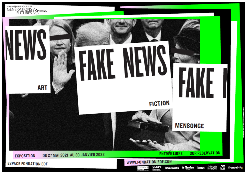 Affiche Exposition Fake news