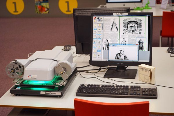 Microfilms à la Bpi